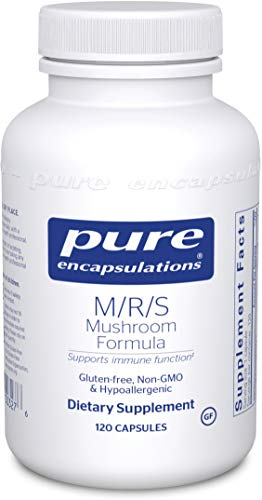 Support Broad Spectrum - Pure Encapsulations - M/R/S Mushroom Formula - Hypoallergenic Supplement Promotes Immune Health and Provides Broad-Spectrum Physiological Support* - 120 Capsules