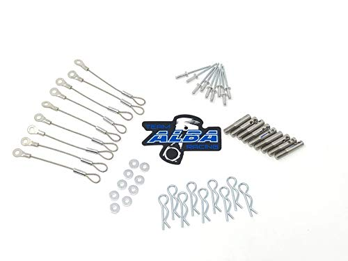 (Alba Racing Polaris XP Turbo Clutch Cover Easy Belt Quick Release Pin Set)