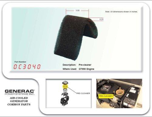 Generac - PRE-CLEANER: GT990 HSB