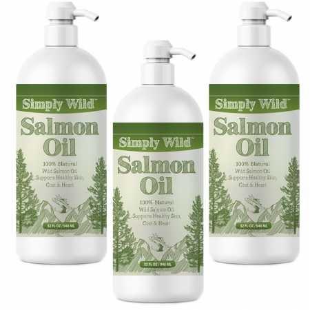 Simply Wild 3PACK Salmon Oil (32 fl oz)