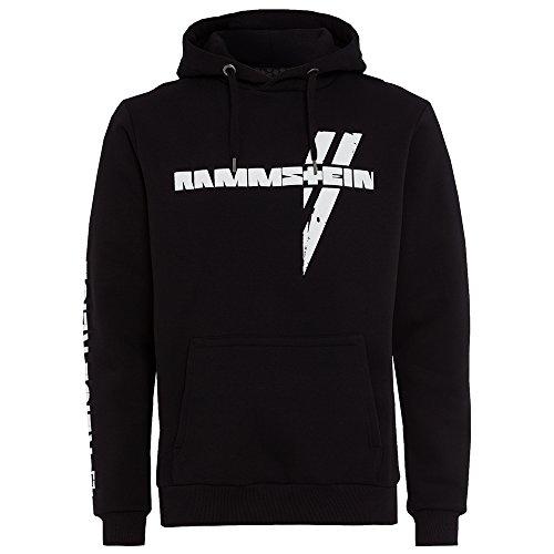 """Rammstein, Kapuzenpullover """"Weißes Kreuz"""""""