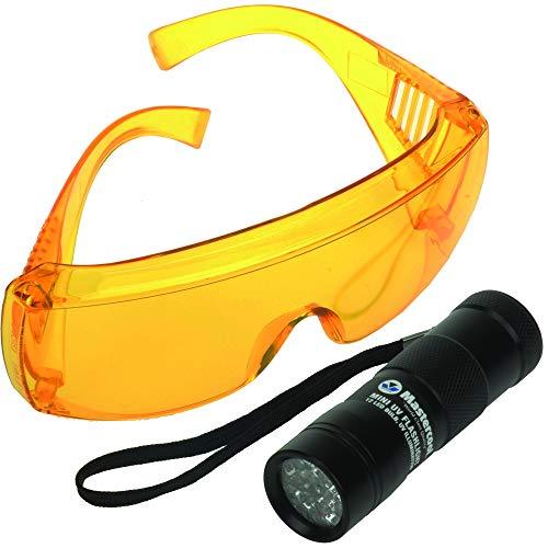 (Mastercool (53512-UV) 12-LED True UV Detection Flashlight)