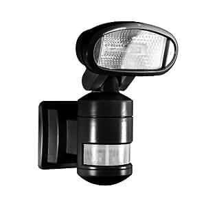 NightWatcher Robotic Security Light-Halogen (Black)