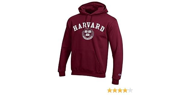 Amazon.com : Champion Harvard University NCAA Hoodie Maroon : Sports & Outdoors
