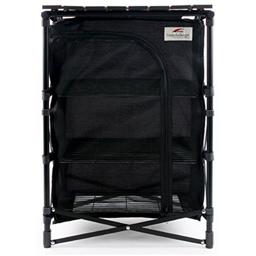 Pms - New Multi-Mesh Rack Stand Camping Table / Camping Cabinet / Outdoor Cabinet / Sports Cabinet