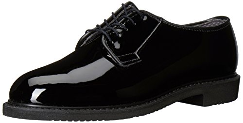 Bates Lites Oxford, High Gloss Black, 11 B US (Bates High Gloss Leather)