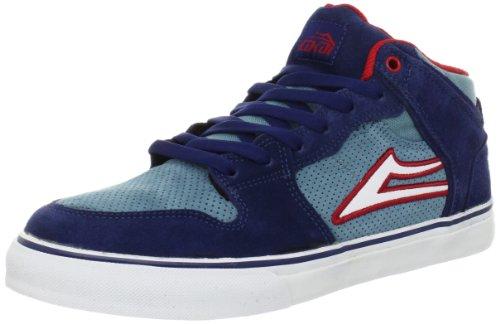 Lakai CARROLL SELECT - Zapatillas de cuero hombre Azul - Blau (BLUE RED SUEDE A0807)