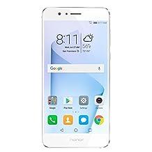 Huawei Honor 8 Dual Camera Unlocked Phone 32GB - Pearl White - US Warranty