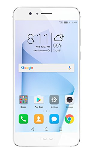 Huawei Honor 8 Unlocked Smartphone 32 Gb Dual Camera   Us Warranty  Pearl White