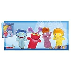 Set 4 Marionetas Los Lunnis