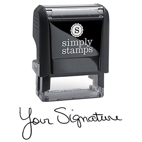 Custom Signature Stamp - Self Inking Personalized Signature Stamp ()
