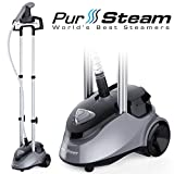 PurSteam Full Size Garment Fabric Steamer Professional Heavy Duty Industry Leading 2.5 Liter