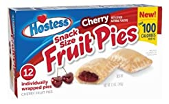 Hostess Snack Size Fruit Pies 12oz (Cher...