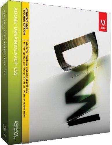 Adobe Dreamweaver CS6 Student And Teacher Get Prices & Buy Online
