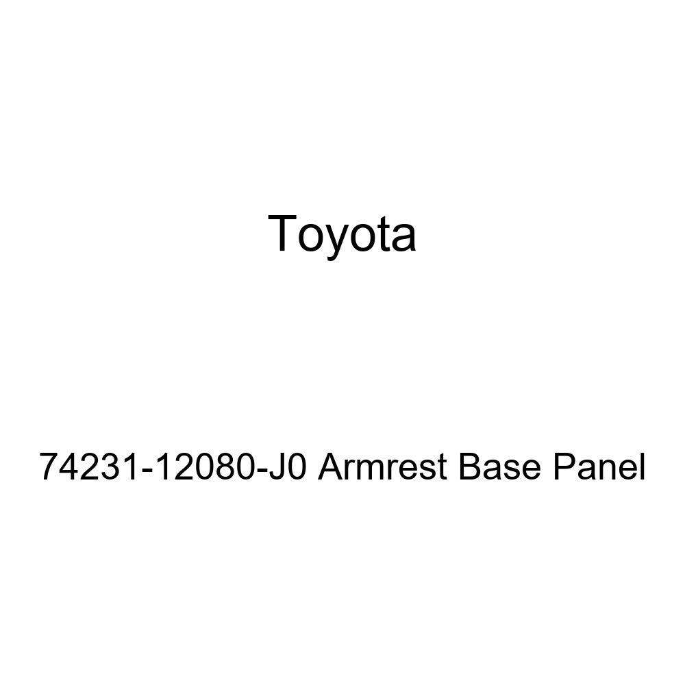 TOYOTA Genuine 74231-12080-J0 Armrest Base Panel