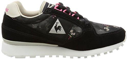 Calzado deportivo para mujer, color Negro , marca LE COQ SPORTIF, modelo Calzado Deportivo Para Mujer LE COQ SPORTIF ECLAT W WINTER FLORAL Negro