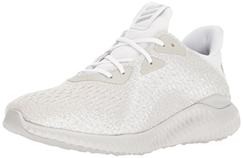 adidas Men's Alphabounce Em m, White/Metallic Silver/Legacy, 14 Medium US by adidas