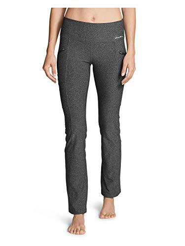 Eddie Bauer Women's Trail Tight Pants, HTR Gray Regular M ()