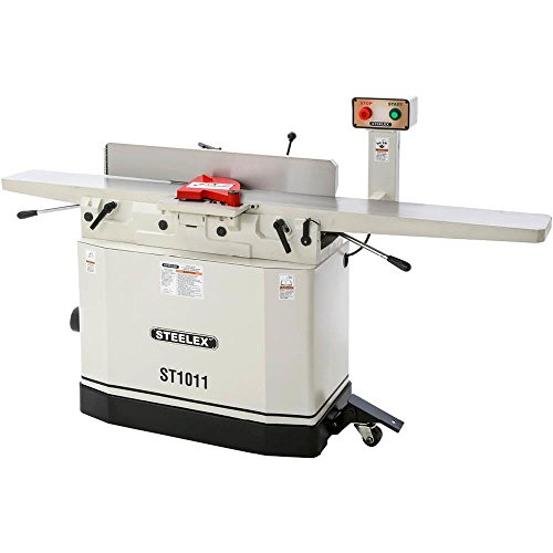 Steelex ST1011 Jointer with Helical Cutterhead, 8""