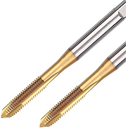 Greenfield Tap Tap Right Hand Straight Flute Hand 1//4 28 Pitch High Speed Steel Bright Finish 326095-2 Packs