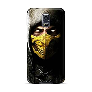 Great Hard Phone Cover For Samsung Galaxy S5 (lsg9794Usbs) Provide Private Custom Attractive Mortal Kombat X Game Skin