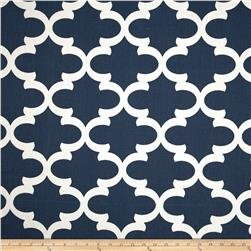 Draft Stopper - Navy Blue & White - Unfilled Window or Door Draft Stopper