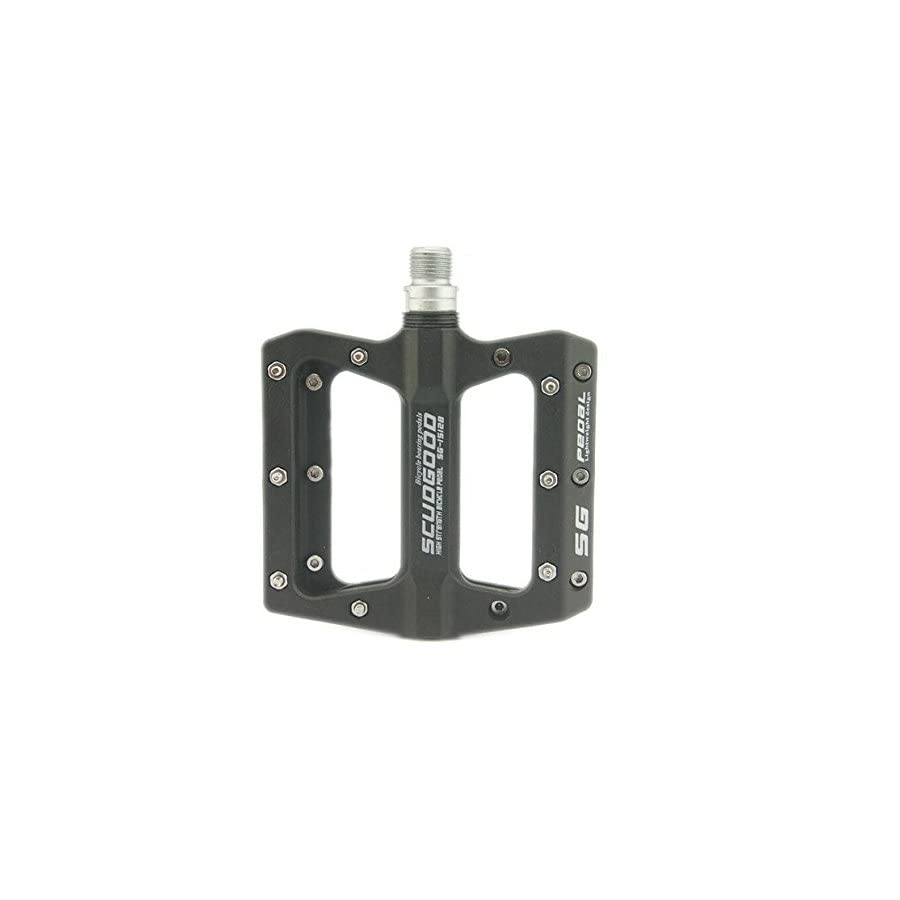 Lightweight Polyamide Black Bike Pedals For BMX Road MTB Bicycle