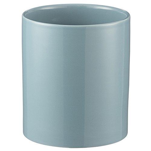 Mason Cash Classic Kitchen Utensil Jar, Durable Stoneware Crock for Organizing Kitchen Tools, 45-Fluid Ounces, Turquoise ()