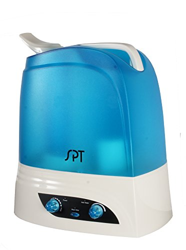 SPT Dual Mist SU-2628B Ultrasonic Humidifier with Filter, Multi (Ultrasonic Steam Humidifier)