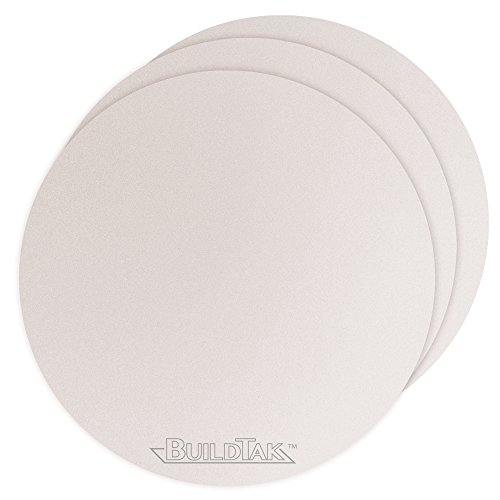 BuildTak BT08DIAWT-3PK Sheet, 8'' Diameter, White by BuildTak