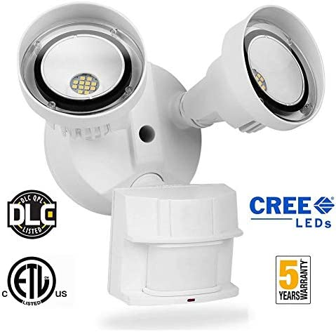 Solar Lights Outdoor, Cloudlight 70 led Solar Security Lights with Motion Sensor 3 Heads spotlights Waterproof 360 Adjustable Flood Lights for Yard Garden and Any Places Exposed to Sunlight