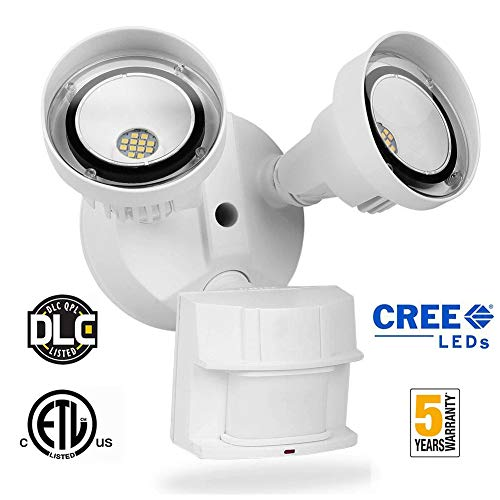 20W LED Security Light Motion Sensor Outdoor,LEDMEI CREE LED 5000K Daylight 2200LM 250W Equivalent IP65 Waterproof Outdoor Motion Sensor Adjustable Flood Light for Entryway Stairs Yard Garage For Sale