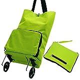 Folding Shopping Cart - Grocery Utility Shopping