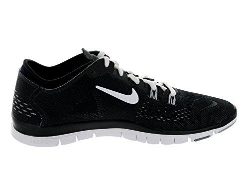 Nike Womens Free 5.0 Tr Fit 4 Stampa Nero / Bianco / Cool Grigio / Wlf Grigio