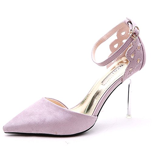 Profond Hauts Sunny Peu De Romain Purple Bouche Talon Et Style Printemps Automne 4351 Amende Chaussure Mesdames Talons Awp6qPrAn