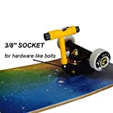 NaPlus Longboard Skate Tool, All-in-One Portable