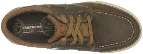 Planfix Marrón 62150 De Para Zapatillas Cdb Creons Cuero Skechers Hombre OFqdwUBF