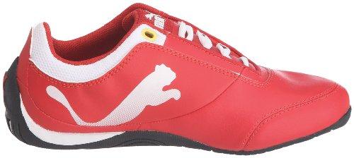 PumaJr Drift Cat 4 L Sf - Zapatillas de Deporte Niños Rojo - Rouge (03)