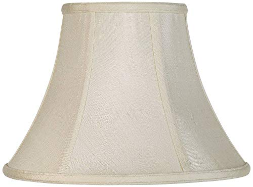 (Imperial Collection Creme Bell Lamp Shade 6x12x9 (Spider) - Imperial Shade)