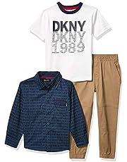 مجموعة ملابس للفتيان تتضمن سروال من دي كيه ان واي