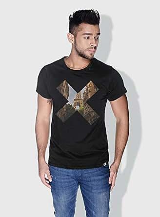 Creo Paris X City Love T-Shirts For Men - M, Black
