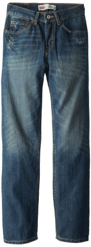 Levi's Boys' Big 514 Straight Fit Jeans, Atlas, 18 - Jeans 514 Straight Slim