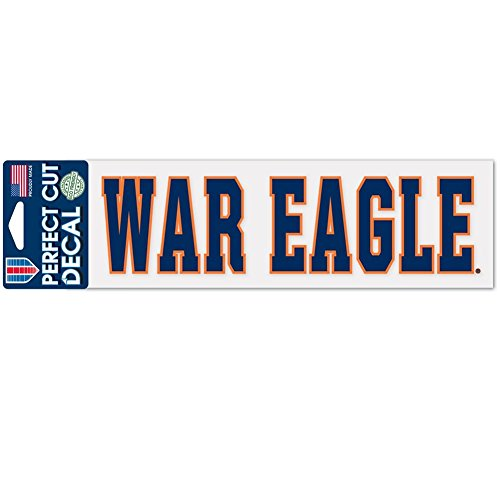 WinCraft NCAA Auburn University WCR35465014 Perfect Cut Decals, 3
