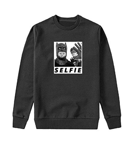 (Batman and Robin Selfie Sweater Unisex Sweatshirt for Men and Present 2XL)