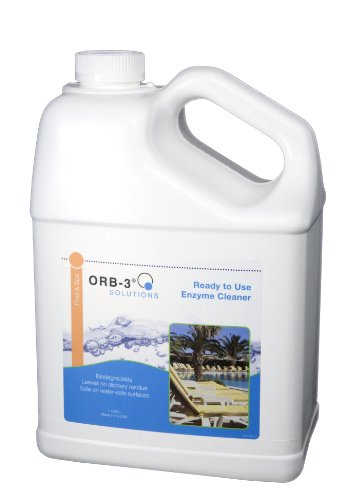 ORB A011-J5R-1G Ready-to-Use Enzyme Cleaner Jug for Pools...