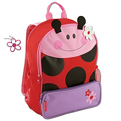 bc7daa1f85 50%OFF Stephen Joseph Girls Sidekick Ladybug Backpack with Zipper Pull Charm