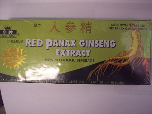 GINSENG Products Panax Ginseng Alcohol Free 10 Vial, 0.02 Pound
