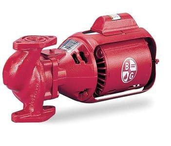 - Bell & Gossett Circulating Pump Series 100 Model 100 NFI 1/12 hp 115 Volts