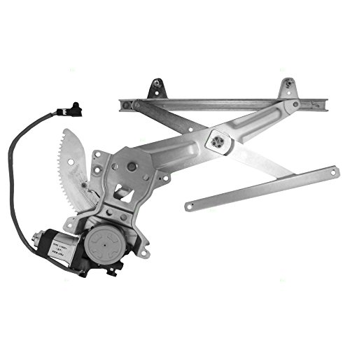 Passengers Rear Power Window Lift Regulator with Motor Assembly Replacement for Toyota ()