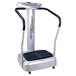 Health & Fitness_hub SOBO Xtreme Powerful Slim Full Body Vibration Platform Exercise Crazy Fit Machine